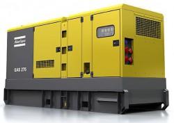 дизельная электростанция atlas copco qas 275