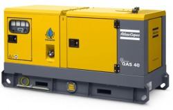 дизельная электростанция atlas copco qas 40