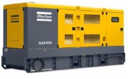 дизельная электростанция atlas copco qas 630