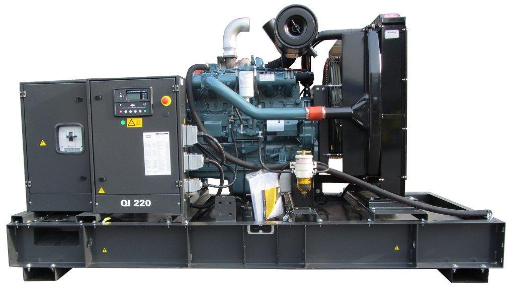 дизельная электростанция atlas copco qis 330