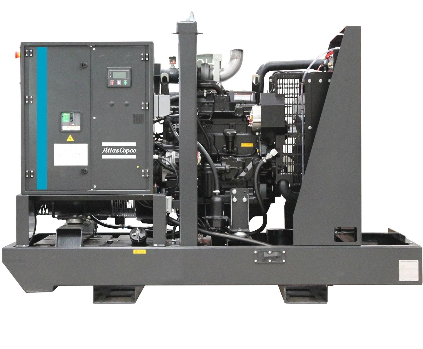 дизельная электростанция atlas copco qis 90