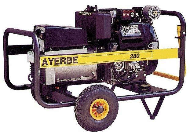 дизельная электростанция ayerbe ay 280 r cc e
