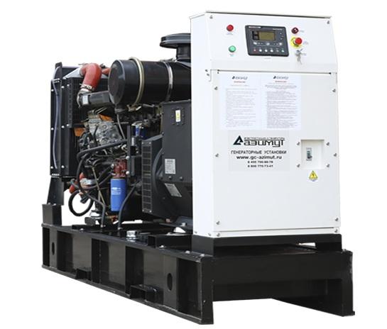 дизельная электростанция azimut ад-100с-т400-1рм11