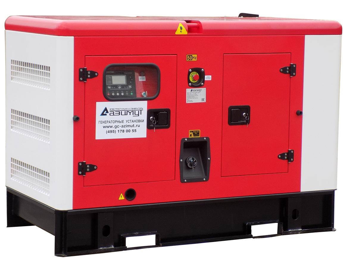 дизельная электростанция azimut ад-10с-т400-1ркм11