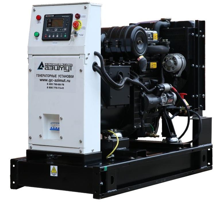 дизельная электростанция azimut ад-10с-т400-2рм11