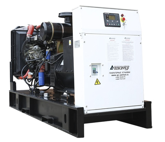 дизельная электростанция azimut ад-120с-т400-2рм11