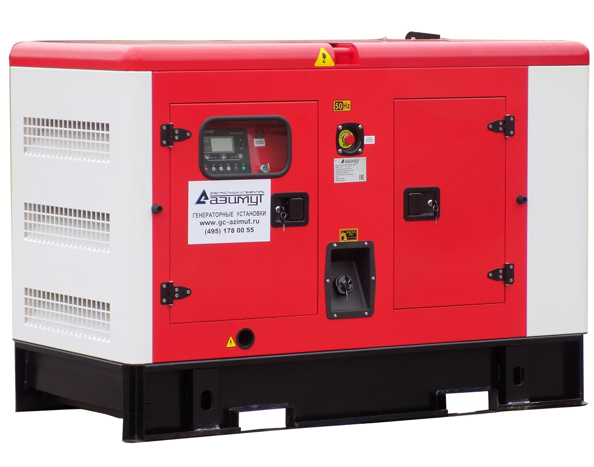 дизельная электростанция azimut ад-12с-т400-2ркм11