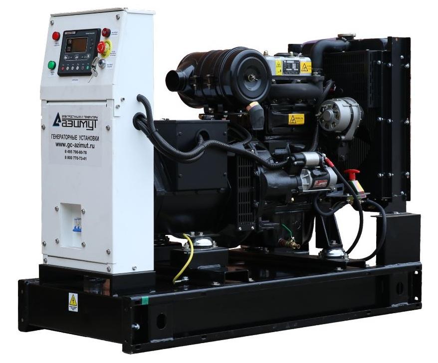 дизельная электростанция azimut ад-12с-т400-2рм11