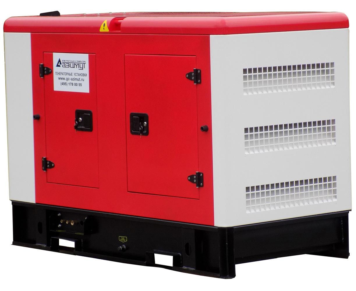Дизельная электростанция Azimut Ад-150с-т400-2ркм11