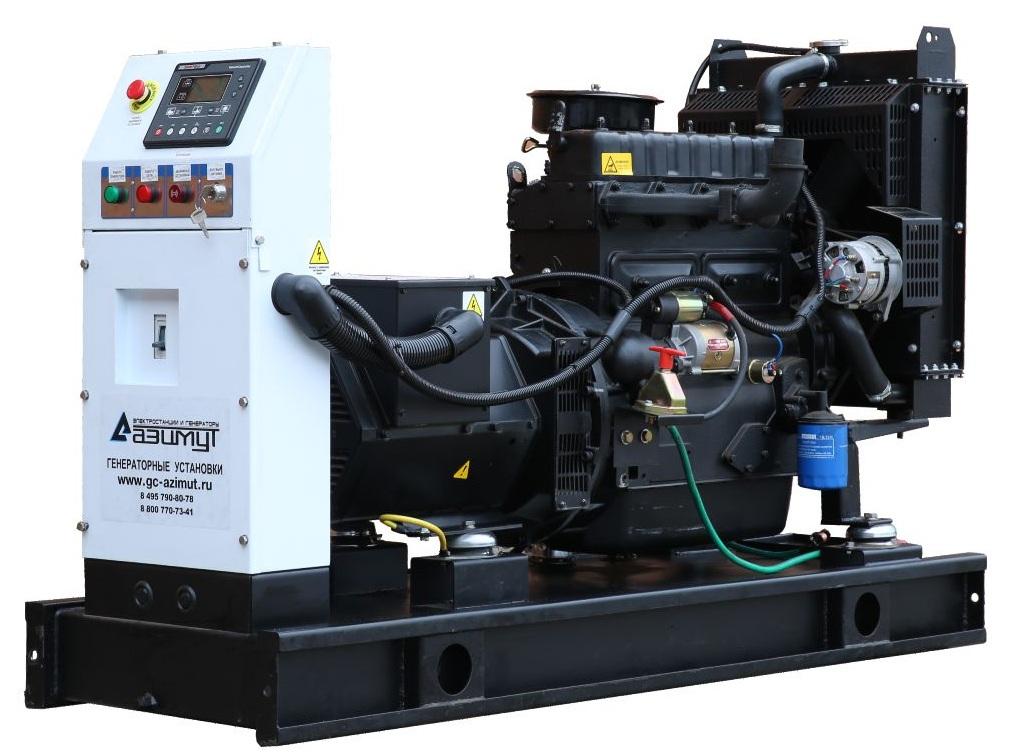 дизельная электростанция azimut ад-20с-т400-2рм11