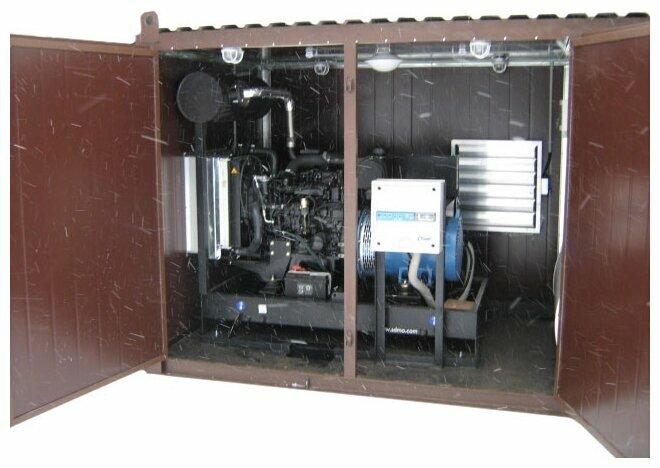 дизельная электростанция azimut ад 20-т400-1рн