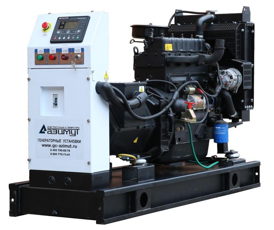 дизельная электростанция azimut ад-24с-т400-2рм11