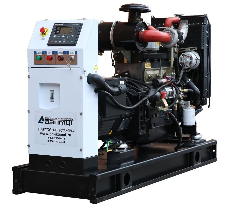 дизельная электростанция azimut ад-30с-т400-1рм11