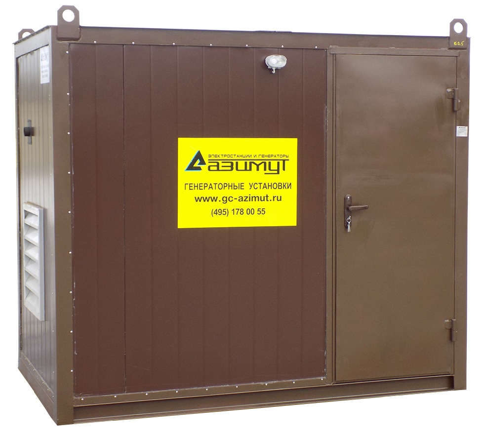 дизельная электростанция azimut ад-500с-т400-2рнм11