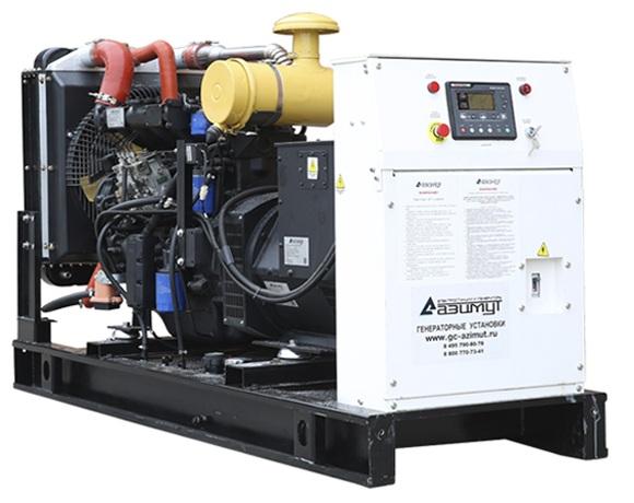 дизельная электростанция azimut ад-50с-т400-1рм11