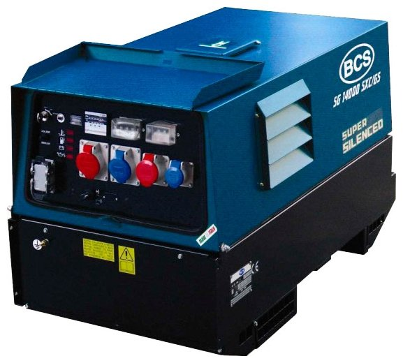 дизельная электростанция bcs sg 14000 sxс/gs eas