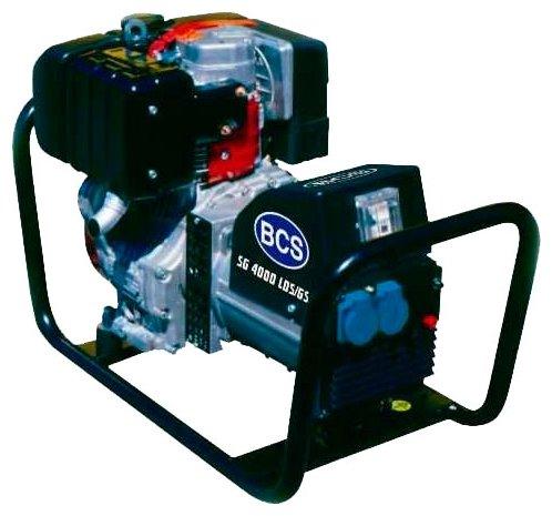 дизельная электростанция bcs sg 4000 lds/gs