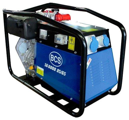 дизельная электростанция bcs sg 6000 des/gs