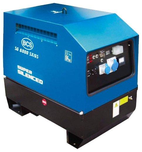 дизельная электростанция bcs sg 6000 sx/gs-eas