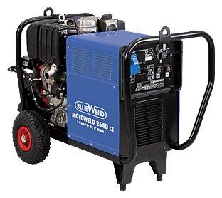 дизельная электростанция blueweld motoweld 264 d/ce