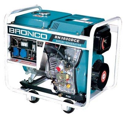 дизельная электростанция bronco bn3800dce