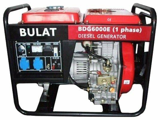 дизельная электростанция bulat bdg6000cle