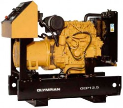 дизельная электростанция caterpillar geph30-2