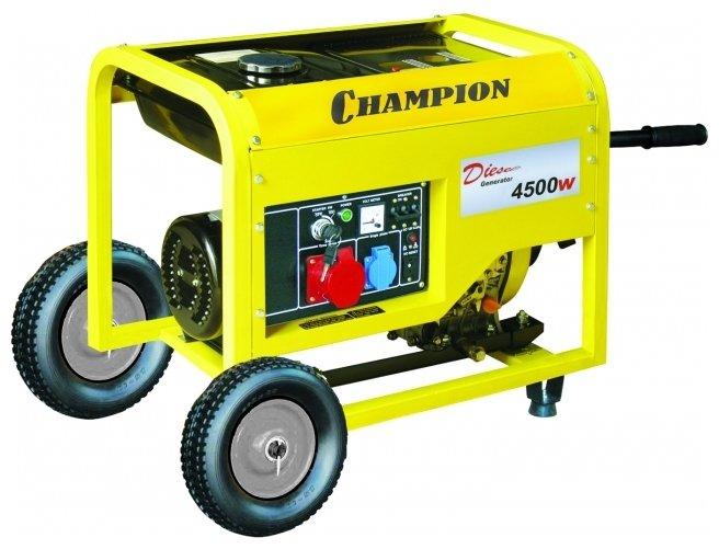дизельная электростанция champion dg6000e-3