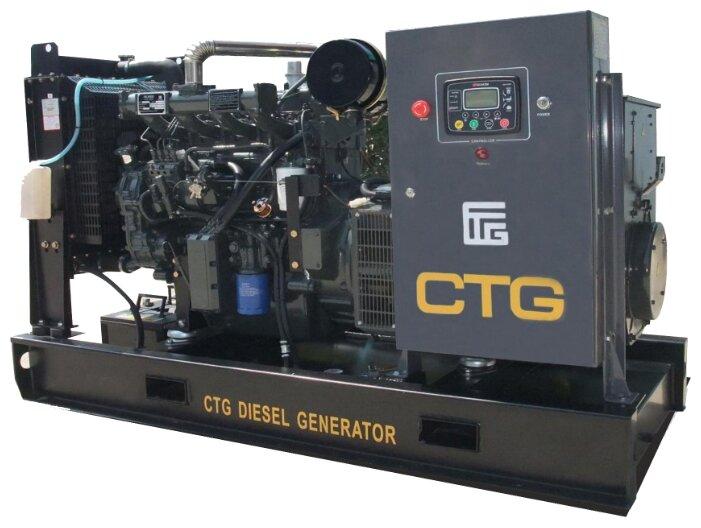 дизельная электростанция ctg 165d