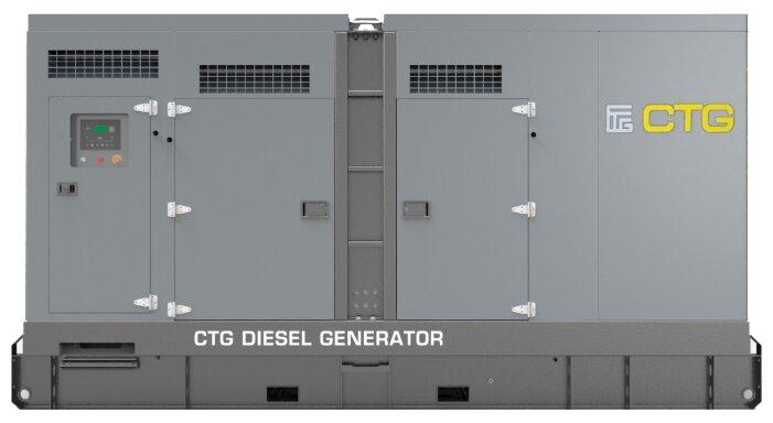 дизельная электростанция ctg 825d