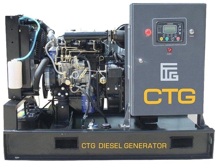 дизельная электростанция ctg ad-100re