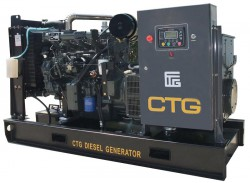 дизельная электростанция ctg ad-140sd