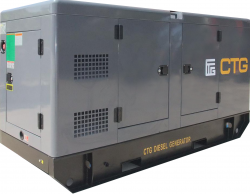дизельная электростанция ctg ad-14res-m
