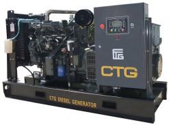дизельная электростанция ctg ad-200sd
