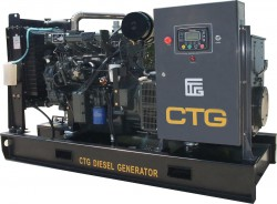 дизельная электростанция ctg ad-320wu
