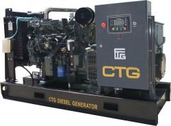дизельная электростанция ctg ad-550wu
