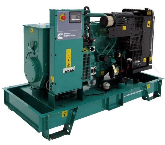 дизельная электростанция cummins c55d5