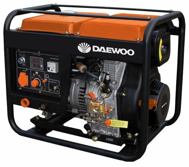 дизельная электростанция daewoo daw 190ac