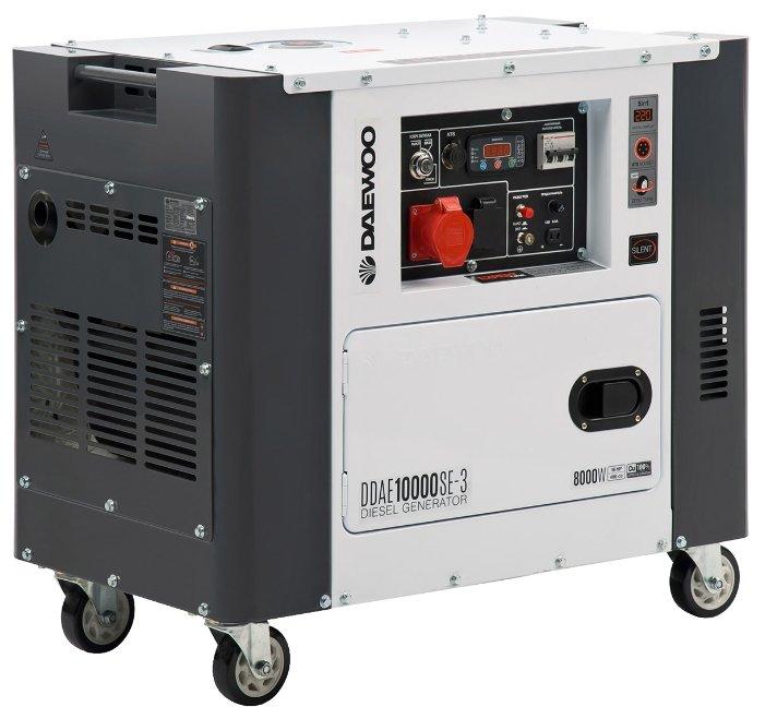 дизельная электростанция daewoo ddae 10000se-3