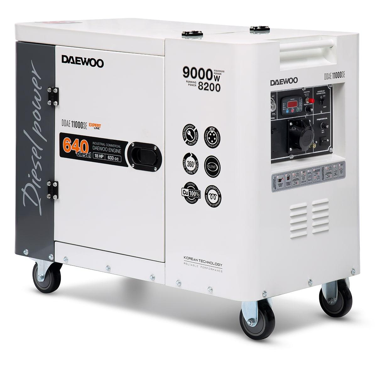 дизельная электростанция daewoo ddae 11000se