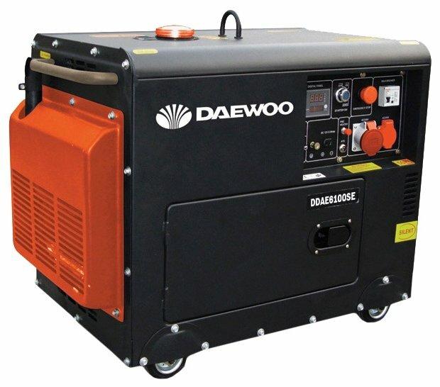дизельная электростанция daewoo ddae 6100se