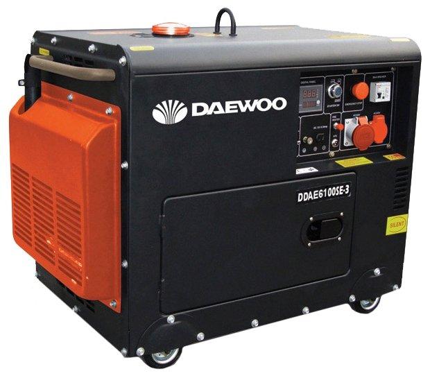 дизельная электростанция daewoo ddae 6100se-3