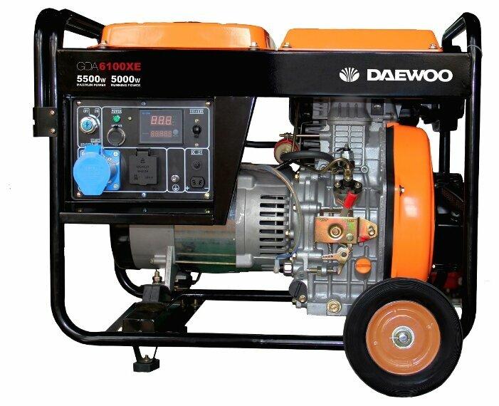дизельная электростанция daewoo ddae 6100xe