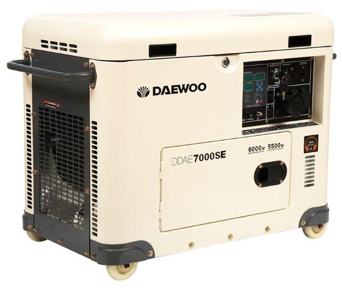 дизельная электростанция daewoo ddae 7000 se
