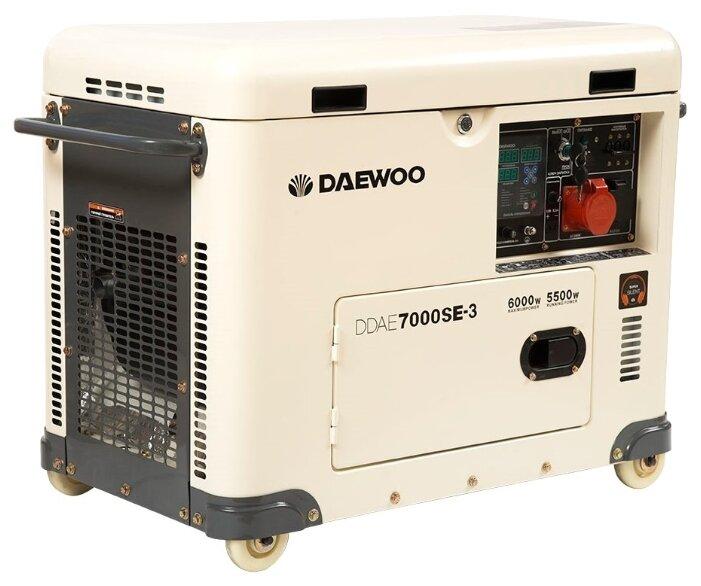 дизельная электростанция daewoo ddae 7000 se-3