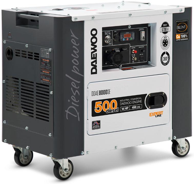 дизельная электростанция daewoo ddae 8000se