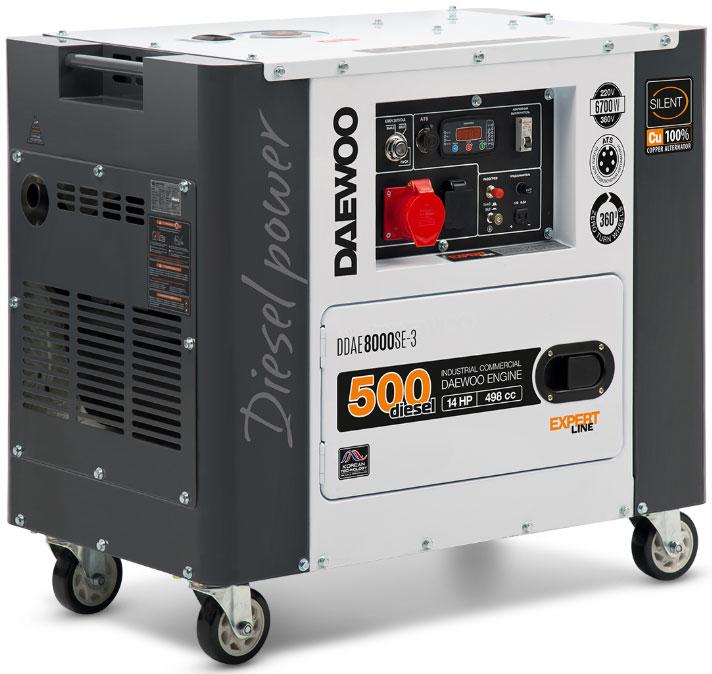 дизельная электростанция daewoo ddae 8000se-3