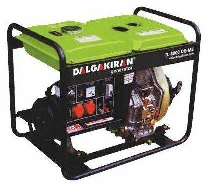 дизельная электростанция dalgakiran dj 4000 dg-e