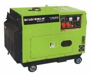 дизельная электростанция dalgakiran dj 4000 dg-ecs