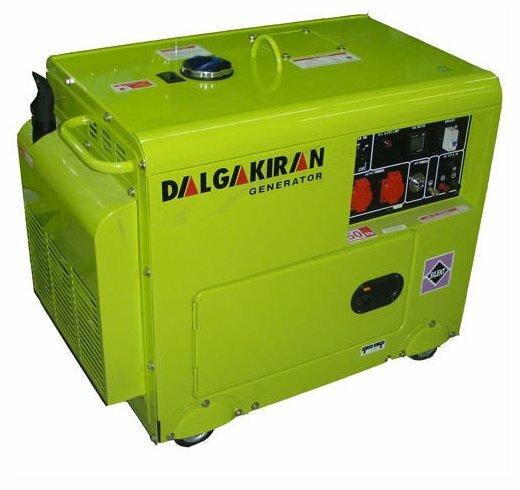 дизельная электростанция dalgakiran dj 7000 dg-ecs